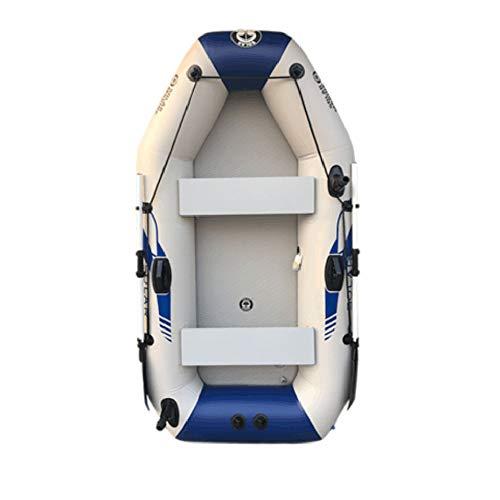 FU LIAN 5.7/6.6Ft Schlauchboot, hochwertiges 0,9 mm PVC-Material, Korrosionsschutzbeschichtung, voll ausgestattet, leicht zu tragen, geeignet für Einzelfischen und Wasserspiel