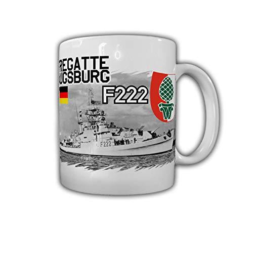Tasse Fregatte Augsburg F222 Schiff Köln-Klasse Besatzung Reservist Kaffee#26765