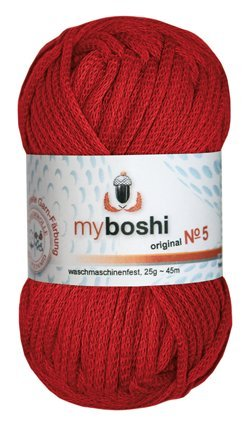 myboshi No 5 - signalrot