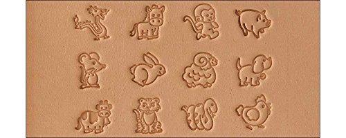 Tandy Leather Cartoon Animal Stamp Set 8159-00