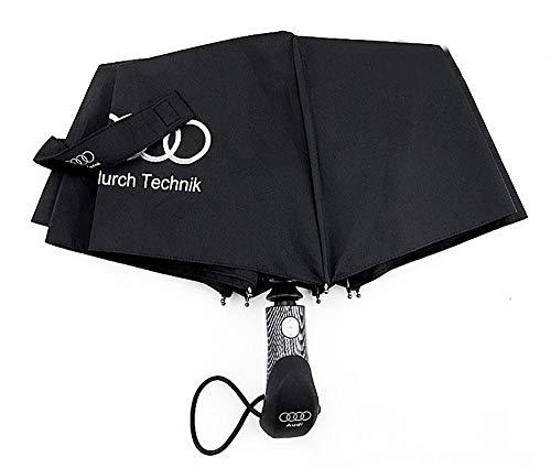Ombrello pieghevole e borsa