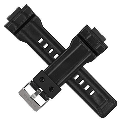 Casio - Correa de Repuesto para Reloj G-Shock GA-100 GA-110 GD-120, Color Negro