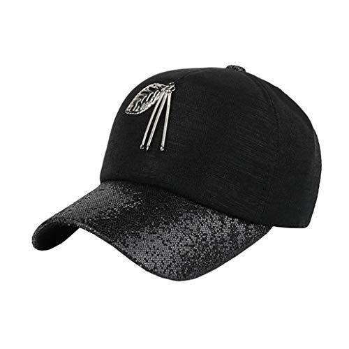Gorra de Beisbol para Mujer, MINXINWY Sombrero de Gorra de béisbol ...