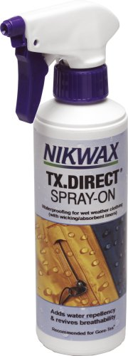 Nikwax Tx. Direct Spray On Spray On Waterproofer - 0.3lt