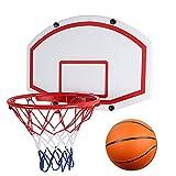 RHSMW Canasta De Baloncesto De Pared, El Aro De Baloncesto para Adultos Estándar Es Adecuado para Juguetes Deportivos Al Aire Libre para Niños Al Aire Libre Y para Niños,Collapsible