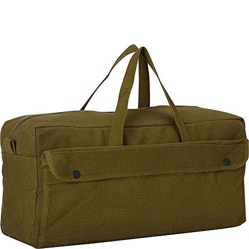 Black Legion Products Jumbo Mechanic's Tool Bag with Brass Zipper, Olive Drab