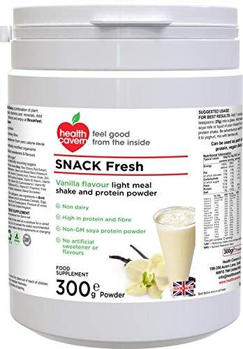 Health Cavern Snack Fresh Vanilla Flavour