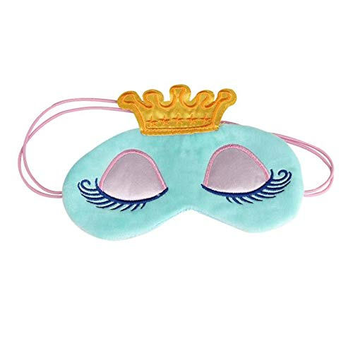 Cute Eyes Cover Crown Style Travel Sleeping Blindfold Shade Eye Mask Funny Gif eyes care tools