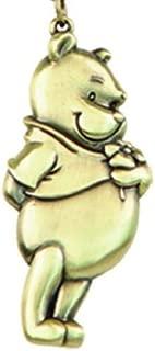 Disney Pooh Brass Pewter Key Ring