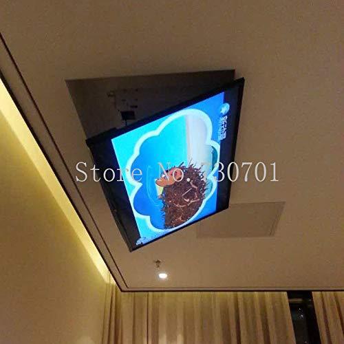 Laliva Plugs Eversion - Soporte de techo eléctrico motorizado LED LCD para televisor, función de control remoto, 110 V-250 V, apto para TV Ma de 32