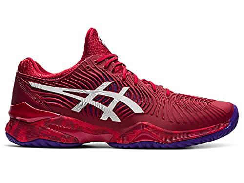 ASICS Men's Court FF 2 Tennis Shoes, 8.5M, Cranberry/White