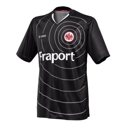 JAKO Eintracht Frankfurt Trikot 11/12 EF4211 152 Schwarz-weiss