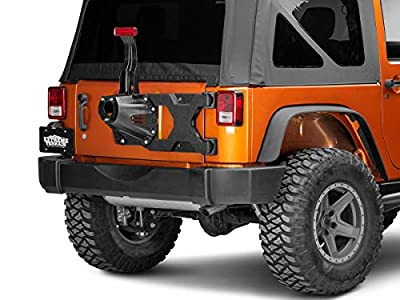 Barricade HD Tire Carrier for OEM Tire Mount