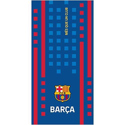 FCB FC Barcelona Strandtuch - Beach Towel - Serviette de Plage - Toalla de Playa - telo Mare FCB192006-R