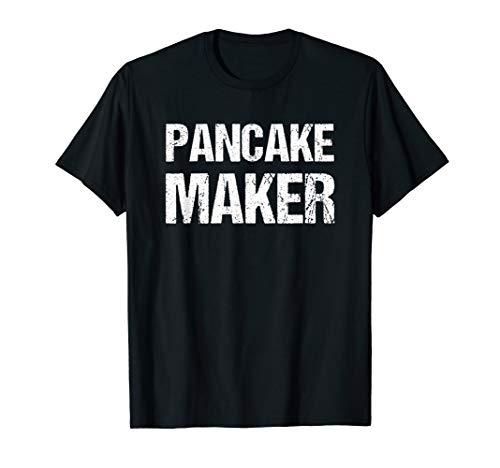 Pancake Maker Funny Breakfast Food T-Shirt