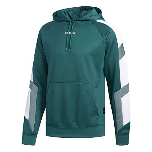 adidas Herren EQT Blk Hy Sweatshirt S Noble Green