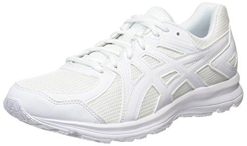 [アシックス] ランニングシューズ JOG 100 2 メンズ ホワイト/ホワイト 23.5 cm 3E