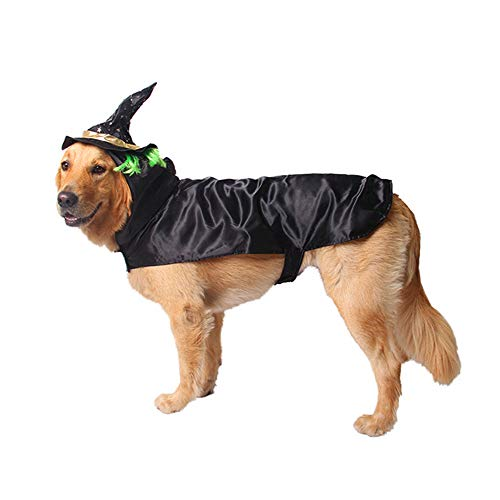 XinC Haustier-Halloween-Weihnachtskostüm, Party-Leistungs-Kostüme Kalter und Warmer Halloween-Perücken-Mantel-Tier-lustiger KostümHoodie,M