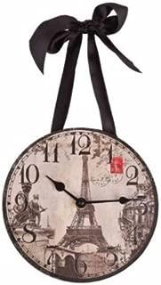 DCI 1 X Wall Clock - Paris/Eiffel Tower Vintage Images