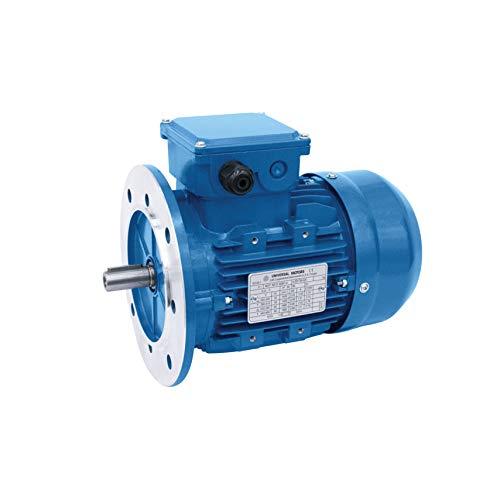 DOJA Industrial | Motor Electrico trifasico 380v (0,75 KW - 1 CV) 3000 RPM con Brida B5 | Motores electricos de ALTA CALIDAD