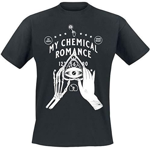 My Chemical Romance Skeleton Planchette Uomo T-Shirt Nero L 100% Cotone Regular