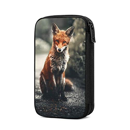Data Storage Bag Bright Fox Electronic Accessories Organizer, Travel Gadget Bag for Cables, USB Flash Drive, Plug and More