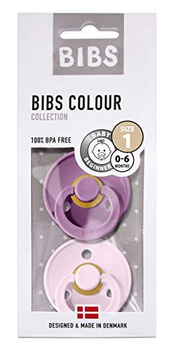 BIBS fopspeen Lavender-Baby Pink, maat MT1-0-6 maanden
