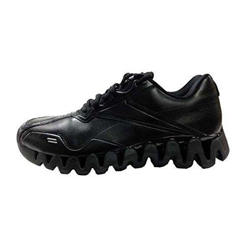 Reebok Zig Energy Ref Mens Basketball Shoe 9 Black/Black