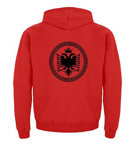 Hochwertiger Kinder Hoodie - Albanische Flagge Shirt Albanischer Adler Albanien T-Shirt Kosovo Geschenk