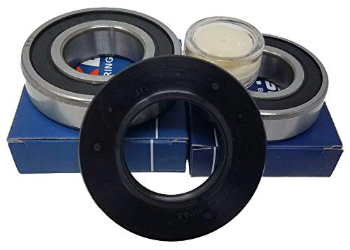 Lagersatz Kugellager 6205 RS 6206 RS Wellendichtung 35x62x11/12,5 Waschmaschine AEG Electrolux