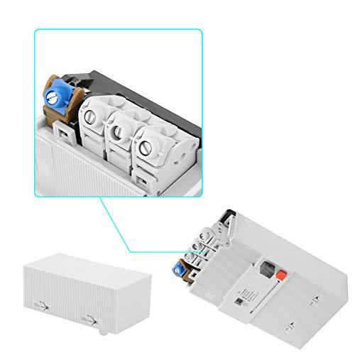 Interruptor de aire duradero de bajo voltaje Montaje en riel DIN Disyuntor en miniatura de 4 polos Caja de plástico PG 30-60A para sistema de distribución de energía industrial