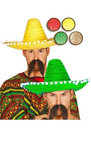 Sombrero Mejicano 45cm Paja - Sombreros, Gorros, Cascos y Diademas