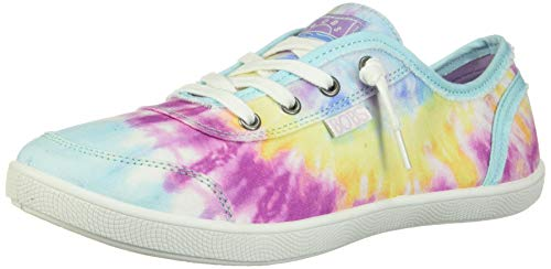 Skechers womens Bobs B Cute Sneaker, Pink/Multi, 7 US