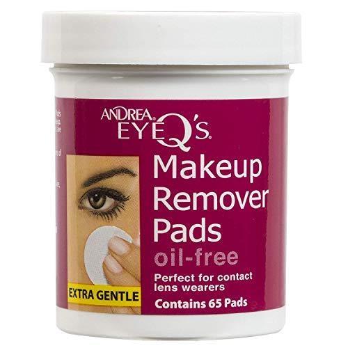 Andrea Eye Q'S 65 Count Oil Free White (2 Pack)