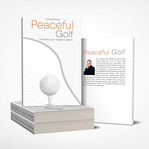 Peaceful Golf: Eliminate Your Negative Game audiobook cover art