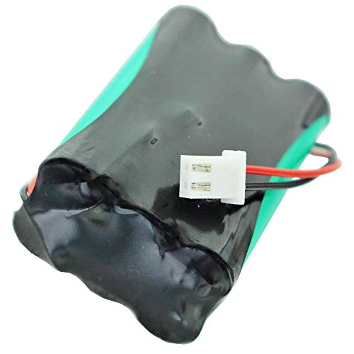 AccuCell Neu Akku passend für Esylux EN10030956 7,2 Volt 600mAh, Akkupack mit Kabel und Stecker, passend für ESYLUX Notleuchten Serie SLC SLD SC/C