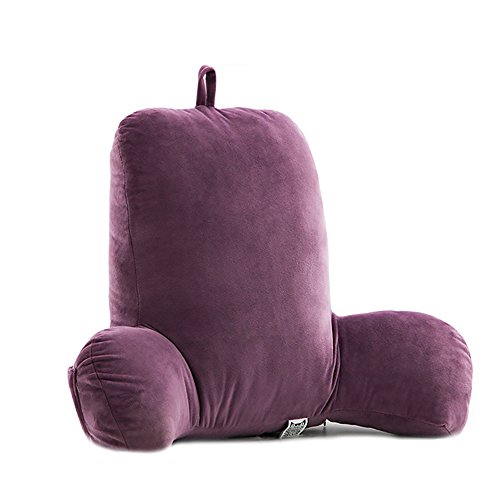 Couch /& TV and Against Back Pain Cushion Pillow Reading Pillow Cosy Cushion for Bed Head /& Pelvis Support for Pregnant Women for Car Sofa Bed Couch Sofa Color : Pink