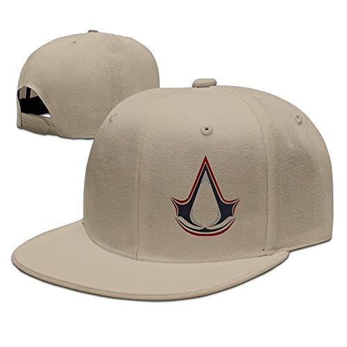 Youaini Assassins Creed Adjustable Snapback Baseball Flat Caps Hats Natural