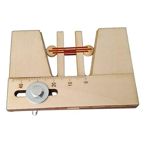 Fayeille 1 piezas herramientas de amarre de ojos muertos accesorios de bricolaje herramienta de mano fija para modelo de barco de madera
