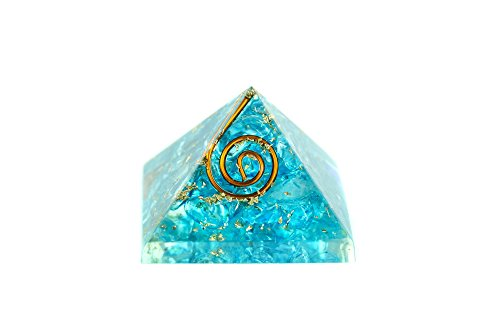 Mini - Orgonit Pyramide - Blue Energie 453
