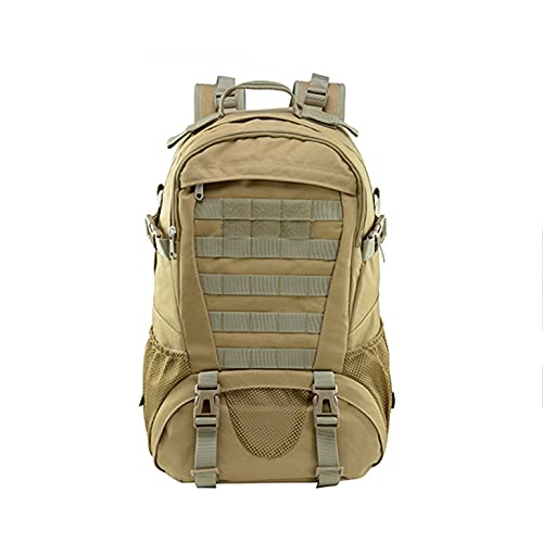 SRQLC Backpack Multifunctional Travel Backpack for Men and Women, Tactical Backpack, Outdoor Sports Mountaineering Bag, Travel School Bag for Outdoor Fishing Hiking Camping,A