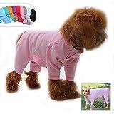 lovelonglong Pijama Ligero para Perro, de Cuatro pies, de algodón...