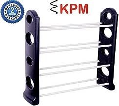 KPM™ Easy to Assemble & Light Weight Unbreakable 4 Shelves Shoe Rack