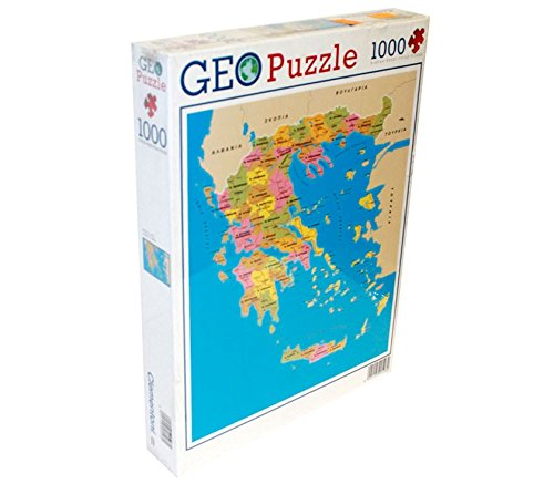 TOINSA Puzzle de 1000 Piezas Mapa de Grecia: Amazon.es: Hogar