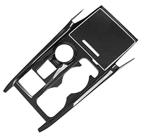 LHSM para E-Xplorer 2020 para U625 Embellecedor ABS con Patrón Fibra Carbono Interruptor Volante Coche Botón Control Marco Decoración Cubierta LHD Decoración Interiores (Color : Option 3)
