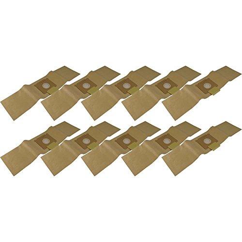 10 Staubsaugerbeutel aus hochfestem Papier passend für Sorma 505