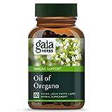 海外直送品Gaia Herbs Oil of Oregano, 60 Caps