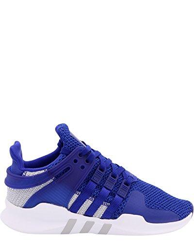 Zapatillas de deporte Adidas para mujer Equipment Support, caña baja, de color gris, color Azul, talla 5 M US Big Kid