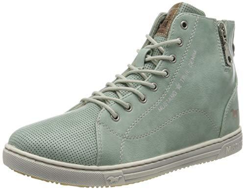 MUSTANG Damen 1349-501-706 Hohe Sneaker, Grün (Mintgrün 706), 40 EU