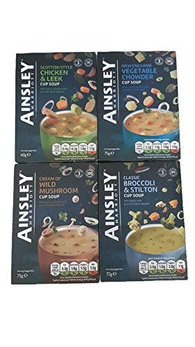 Ainsley Harriott Cup Soup Pack 4 cajas 3 sobres cada uno de
